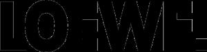 LOEWE - Logo des in Berlin gegründeten Herstellers für Unterhaltungselektronik