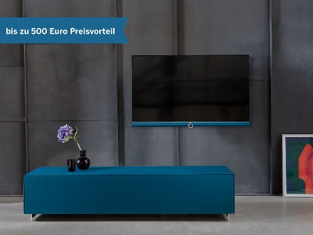 tauschen sie technik gegen lebensgef hl mit der loewe lifestyle pr mie bis zu 500 euro. Black Bedroom Furniture Sets. Home Design Ideas